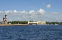 St. Petersburg, Vasilyevskiy island Stock Image