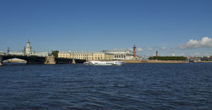 St. Petersburg, Vasilyevskiy island Stock Photos