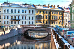 St petersburg Royalty Free Stock Photography