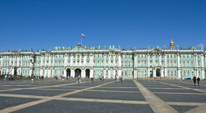 St Petersburg vinterslott (eremitboning) Royaltyfri Bild