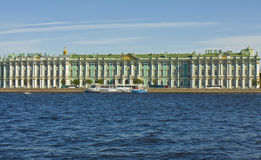 St Petersburg vinterslott (eremitboning) Royaltyfri Foto