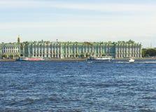 St Petersburg vinterslott (eremitboningmuseet) Arkivfoto