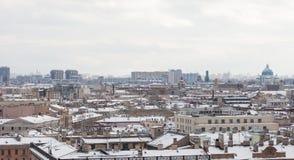 St Petersburg von der Kolonnade von Kathedrale St. Isaacs Lizenzfreies Stockbild