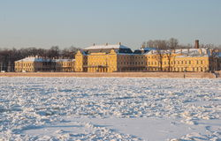 St. Petersburg in winter Royalty Free Stock Photography