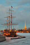 St.-Petersburg, winter landscape Stock Photo