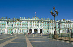 St. Petersburg, Winter palace (Hermitage) Stock Image