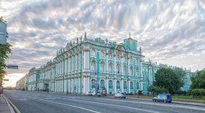 St. Petersburg. Winter Palace. Hermitage Museum. Royalty Free Stock Image