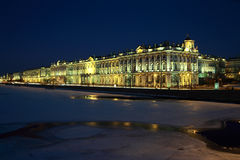 St. Petersburg, Winter Palace Stock Images