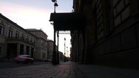 St Petersburg Witte Nachten stock footage