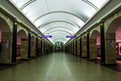St. Petersburg & x27; s metro Royalty-vrije Stock Fotografie