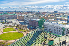 The St Petersburg's skyline Stock Images