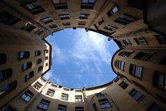St Petersburg Yard Stockfotografie