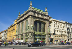 St. Petersburg, Yeliseevskiy shop Stock Photos