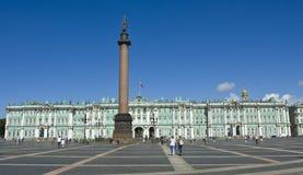 St. Petersburg, zima pałac (erem) Zdjęcie Royalty Free