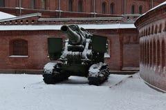 St- Petersburggewehrwinter Museum Stockbilder