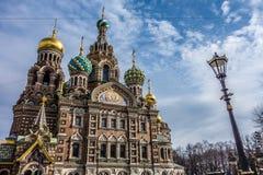 St- Petersburgkirche Lizenzfreie Stockbilder