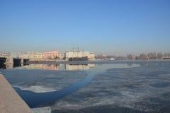 St- Petersburgmitte Stockbild