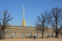 St- Petersburgmitte Lizenzfreie Stockbilder