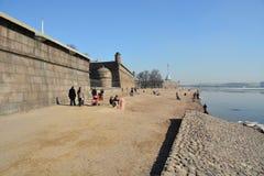 St- Petersburgmitte Lizenzfreies Stockbild