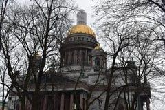 St- Petersburgmuseum Isaac Cathedral Orthodox Lizenzfreie Stockbilder