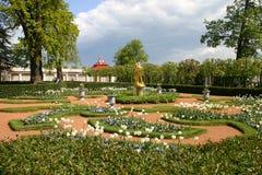 St. - Petersburgo, Peterhof fotografia de stock