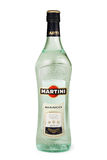 ST PETERSBURGO, RÚSSIA - 26 DE DEZEMBRO DE 2015: Garrafa de Martini Bianco Vermouth, Itália Foto de Stock