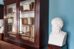 ST PETERSBURGO, RUSSIA-APREL 24 2016: Bibliotecas de Klass del liceo en Pushkin foto de archivo libre de regalías