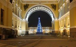 St - Petersburgo ` S St Petersburg del Año Nuevo Rusia Imagenes de archivo
