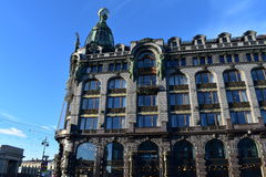 St- Petersburgsängerhaus, Nevsky Prospekt Stockfotografie