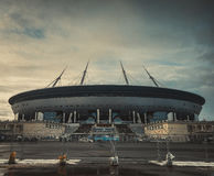 St. Petesburg. The new stadium `Zenith Arena` in St. Petesburg Royalty Free Stock Images
