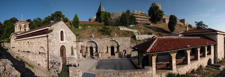 St. Petka chapel. Is located in Kalemegdan fortress, just below Ruzica church stock image