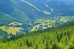 St. Petr, Giant Mountains (Czech: Krkonose), Riesengebirge, Czech, Polannd Stock Photography