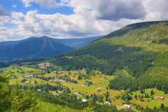 St. Petr Valley, Giant Mountains (Czech: Krkonose), Riesengebirge, Czech, Polannd Royalty Free Stock Photo