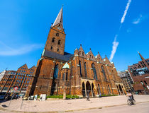 St Petri Church in Hamburg hdr. HAMBURG, GERMANY - CIRCA MAY 2017: Hauptkirche St Petri (St Peter Church) aka Petrikirche, hdr Stock Photography