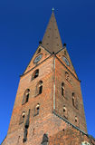 St. Petri church tower (Hamburg, Germany) Royalty Free Stock Image