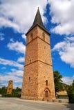 St Petri Kirche wierza Nordhausen Harz Niemcy obrazy stock