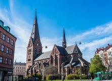St Petri Kyrka - церковь St Peter Стоковые Изображения