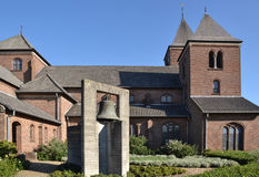 St. Petrus- en Paulus church in Arcen. Royalty Free Stock Photo