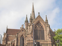 St Philip Cathedral, Birmingham Royalty Free Stock Photo