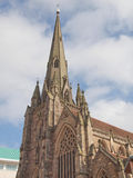 St Philip Cathedral, Birmingham Stock Image