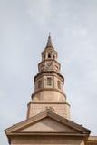 St Philip kościół episkopalny, Charleston, SC fotografia stock