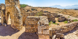 St. Philip Martyrium in Hierapolis Stock Images
