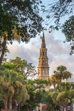 St. Philip's Episcopal Church - Built in 1836 (spire completed i Royalty Free Stock Photography