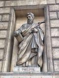 ST Philipe da estátua Imagens de Stock Royalty Free