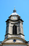 St Philips Cathedral tower, Birmingham. Royalty Free Stock Image