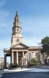 St Philips kościół episkopalnego Charleston SC Obraz Royalty Free