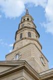 St Phillips Church in Charleston, Zuid-Carolina Stock Fotografie