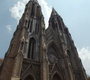 St Philomena Kerk, Mysore Royalty-vrije Stock Foto