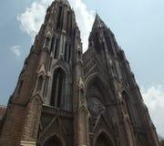 St Philomena kościół, Mysore zdjęcie royalty free