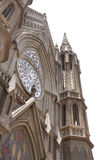St. Philomena's Church, front portion looking up Royalty Free Stock Photos